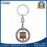 Il metallo su ordinazione gira la catena chiave per il regalo del ricordo