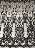Новые поступления моды вышивка кружевной ткани