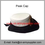 卸し売り安い中国の軍の銀製の円形の軍隊の警察勤務の帽子