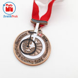 Douane Om het even welke Medaille van de Sport van de Fiets van de Kuiper van de Kleur Antieke