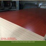 MDF de la melamina para el material de los muebles