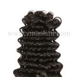 女性は深い波でブラジルのRemyの毛のToupeeを使用する