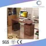 Популярные мебель белого цвета компьютерный стол с выдвижной ящик для мобильных ПК (CAS-CD1836)