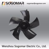 Ventilador axial de cobre do aço de carbono de Dia300mm com lâminas do metal