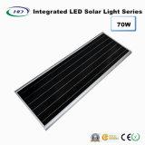 70W LED intégrée Rue lumière solaire avec capteur PIR