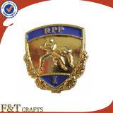 La promoción de metal personalizados Mayoreo emblema distintivo de la escuela insignia de solapa baratos