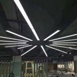 4 футов свободно распространяемым 40 Вт Светодиодные потолочные светильники архитектуры современных линейных подвески подвесной светильник светильник 4600лм 5000K переход на летнее время белого цвета