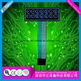 Fabrik-Zubehör-Haustier-Membranschalter-Tastatur mit Medaillen-Abdeckung