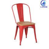 생산 상업적인 포도 수확 산업 식사 대중음식점 금속 프레임 의자