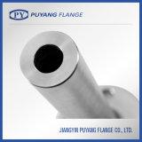 ステンレス鋼の長い溶接首は造ったフランジ(PY0015)を
