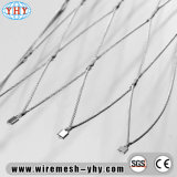高い柔軟性のステンレス鋼Xはケーブルの網をがちである