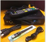 Receptor de satélite digital Jyazbox Ultra HD V500 con Jb200 Turbo 8psk WiFi y módulo de control remoto universal del receptor de SIC