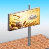 Struttura d'acciaio che fa pubblicità al tabellone per le affissioni di pubblicità esterna del LED Digital