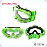 Anteojos flexibles de la motocicleta de los deportes al aire libre de las gafas de sol de los anteojos duales de la moto mejores