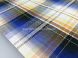 Хлопчатобумажная пряжа покрасила ткань проверки Dobby Seersucker - Lz6989