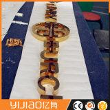 Anti-séptico que projeta letras decorativas do metal 3D