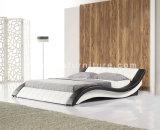 Meubles en cuir A044# de chambre à coucher de bâti