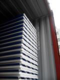 """Panneau """"sandwich"""" ignifuge isolé bleu de toit de l'acier ENV (mousse) pour la Chambre préfabriquée"""