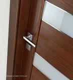 Portes intérieures solides en bois de chêne d'épreuve du feu de brousse pour les maisons internes