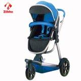 Carrinho de criança de bebê com frame e assento regular