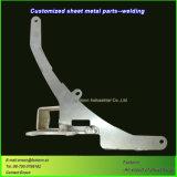 Delen van de Precisie van de Vervaardiging van het Metaal van het Blad van het Lassen van het aluminium de Scherpe