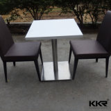 Tabella pranzante di superficie solida moderna di 4 Seaters