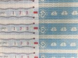 패턴 아기 기저귀 정면 테이프 비 길쌈된 직물을 인쇄해 OEM