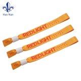 Moda Bracelete tecidos 125kHz pulseira RFID descartáveis