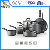 O Cookware Nonstick duramente anodizado ajustou-se (CX-AS1202)