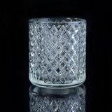 Suportes de vela do cristal com projeto de Dimon