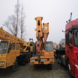 Guindaste usado de Tadano Tl350e da maquinaria de construção guindaste usado 35 toneladas do caminhão de elevador para a venda