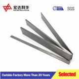 Tiras de carburo de tungsteno para las cuchillas de corte de madera