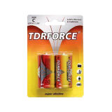 9 pilha de bateria alcalina do volt 6lr61-9V para o fumo Detetor