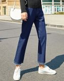 Custom вязки Джинсовые брюки джинсы