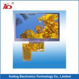 Affichage à cristaux liquides d'écran TFT d'intense luminosité avec le panneau de contact capacitif de surface adjacente de Lvds