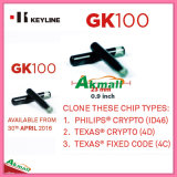 Viruta de cristal del transpondor de Keyline Gk100 884 FAVORABLE