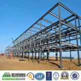 Edificio de la prefabricación del almacén de almacenaje de la estructura de acero
