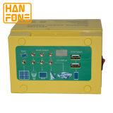 Portable de la Sistema Solar de la potencia de la C.C. de 12V 17ah mini para al aire libre