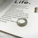 Österreichische Kristallschmucksachen justierbare Hola volle Zircon-Stein-Ringe