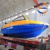 6.5m de BuitenboordMotor van de Boot van de Snelheid FRP