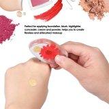 Maquillaje de silicona reutilizables Powder Puff Puff cosméticos de mujer rostro femenino