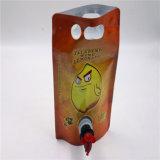 Kundenspezifische Ordnungs-Rotwein-Beutel im Kasten annehmen