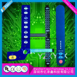 Circuit multicouche estampé plat flexible de carte d'or de submersion de circuit de FPC