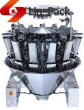 Máquina de empacotamento do sólido e do grânulo com pesador da Multi-Cabeça