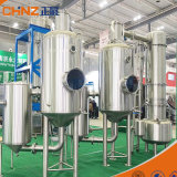 Energie - Gedwongen Vacuüm van het Roestvrij staal van het Effect van de besparing het Dubbele Industriële - de Evaporator van de omloop