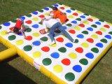 Neue Art2017 kommerzielles aufblasbares Twister-Spiel für Verkauf