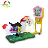 Giro di corsa dell'oscillazione del campo da giuoco del cavallo del Kiddie elettrico a gettoni di disegno 3D