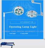 Indicatore luminoso chirurgico medico dell'indicatore luminoso freddo di di gestione del soffitto dentale della lampada