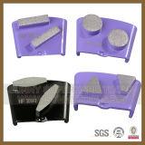Pattini stridenti degli strumenti del diamante concreto e di pietra del pavimento HTC