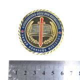 ギフトのための卸し売りカスタムカラー斜めライン端の硬貨